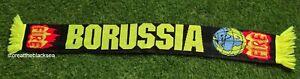 BORUSSIA DORTMUND SCARF FOOTBALL SOCCER YELLOW GREEN BLACK ONE SIZE UNISEX