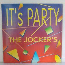 """The Jokers – It's Party (Vinyl 12"""", Maxi 33 Tours)"""