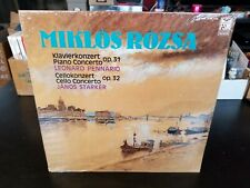 Mikos Rozka Piano Concerto PENNARIO Cello Concerto STARKER FSM 53 901 PAN SEALED