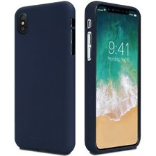 Mercury Goospery Soft Case Gel TPU Cover Skin Shell for Apple iPhone X 10 Blue