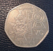 50p COIN ~ 2006 ~ 150th Anniversary Institution of the Victoria Cross CIRCULATED