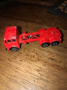 Vintage Matchbox Mercedes Container Truck Preowned O12