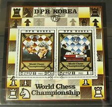 FRANCOBOLLI Corea 1980 blocco World Chess Championship