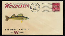 1920s Walleye Winchester Fishing Ad Reprint Collector's Envelope OP1365