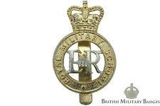Staybrite: Royal Military School Staybright Cap Badge - Anodised Aluminium