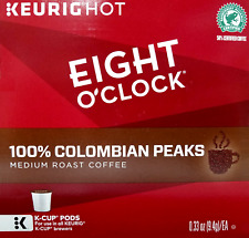 Eight O'Clock Colombian Peaks Coffee, Medium Roast, 72 K-Cup Pods
