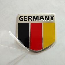 3D Metal Aluminum alloy Germany Flag Badge Car Emblem Decal Sticker logo Auto