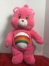 New ListingBuild-A-BearPink Rainbow Cheer Care Bear