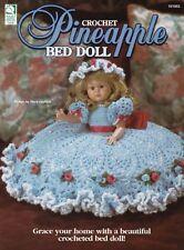 Pineapple Bed Doll ~ Crochet New Oop Elegant Rare Beautiful