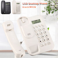 Wall Mounted Corded Home Office Landline Table Telephone With Caller ID Desktop