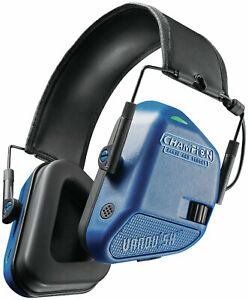 Champion Vanquish Electronic Hearing Protection Muffs Blue 40979
