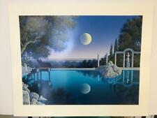 """Jim Buckels """" Bel Air Blues """" Hand Signed & Numbered Limited Edition Serigraph"""