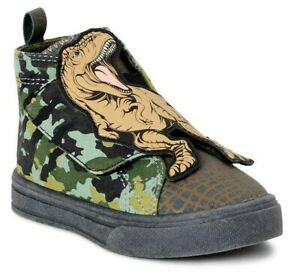 Boys Tyrannosaurus Rex Dinosaur Jurassic Park Shoes/ Sneakers Size 12