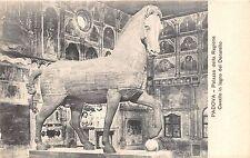 Br35242 Padova PAlazzo della Ragione CAvallo in legno del Donatello italy