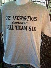 72 Virgins Courtesy of NAVY SEAL Team Six Osama Bin Laden T-shirt Navy