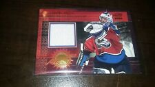 2000-01 Pacific Authentic Game Worn Jersey PATRICK ROY #3 BV$$$