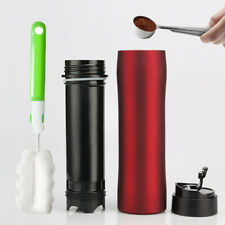 i Cafilas Stainless Steel French Press Coffee Tea Maker Travel Mug 350ml Thermos