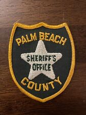 Palm Beach County Sheriff's Patch - Florida - 1st Edition