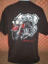 "GUC-Men's Vtg. Black Graphic T-Shirt ""1st Annual Fun Run, Tortilla Flat, AZ"" -XL"