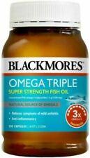 Blackmores Omega Triple Super Strength Fish Oil - 150 Capsules - Exp 18/02/2021