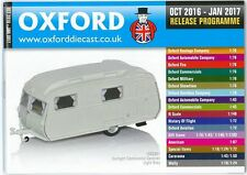 OXFORD DIECAST OCTOBER 2016 - JANUARY 2017 RELEASE PROGRAMME CATALOGUE