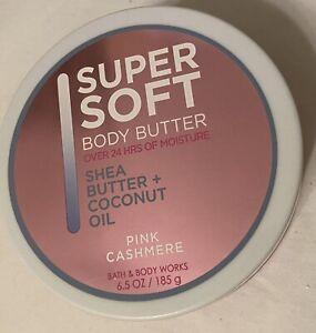 New Bath & Body Works PINK CASHMERE Super Soft Body Butter 24 Hr Moisture 6.5 oz