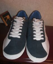 NEW Vintage Mens Rocawear Sheik Roc Athletic Shoes Navy/White  Size 9.5