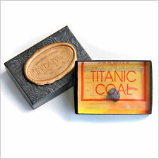 RMS TITANIC COAL 100TH ANNIVERSARY PRESENTATION BOX WCOA  AUTHENTIC MEMORABILIA