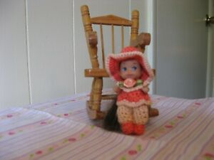 """CORAL AND PEACH SLACK SET FOR KRISSY OR SIMILAR SIZED 2 1/4"""" DOLL"""