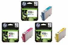 Genuine HP 920XL Colour High Capacity Ink Cartridge Set C/Y/M | FREE 🚚 DELIVERY