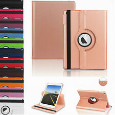 """CaseFor iPad 9.7 2018 6th 10.2"""" 7th 360 Rotating Magnetic PU Leather Stand Cover"""