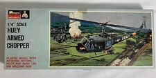 Monogram Huey Armed Chopper Model Kit Army PA152 100 Vietnam Combat Helicopter