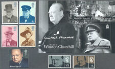Churchill-World war II-Military Great Britain-Guernsey collection mnh