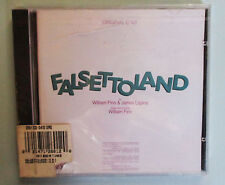 FALSETTOLAND CD Original Cast William Finn Michael Rupert Broadway Musical NEW