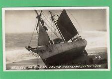 More details for shipwreck magdalene madeleine tristan chesil beach portland 1930  no 5 rp  ab452
