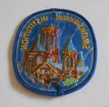 Smithsonian Institution Washington, DC Embroidered Souvenir Patch ~ Vintage