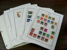SINGAPORE,  Excellent Stamp Collection hinged on pages