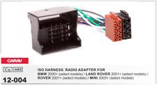 CARAV 12-004 Conector ISO OEM Adaptador BMW 00+ LAND ROVER 01+ ROVER 01+ MINI 03