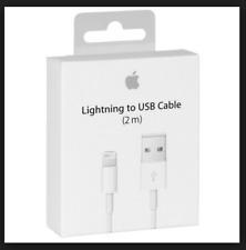 Genuine 2m Apple Lightning Data Cable Charger for iPhone 7 7 Plus 6 5S 5C 6 iPad