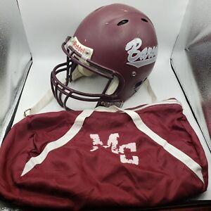 Riddell Helmet Game used Manheim Central Highschool Size Medium with bag