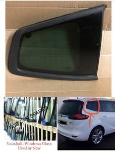 VAUXHALL ZAFIRA C TOURER 2012 - 2017. Rear Right Quarter Window Glass Dark Tint