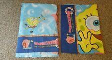 Nickelodeon SpongeBob SquarePants At Bikini Bottom Twin Flat Sheet & Pillowcase