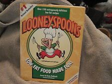Looneyspoons : Low-Fat Food Made Fun! Cookbook by Greta Podleski 1997 PB 187 pgs