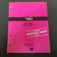 John Deere JD302 Tractor & Loader Operator's Manual OM-T72111 Issue C1