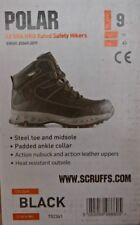 Scruffs Polar Safety Boots - Size 9 - Black - Brand New