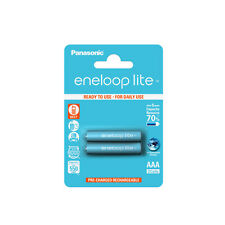 Panasonic  BK-4LCCE/2BE Eneloop Lite Micro Akku AAA 550 mAh 2 Stücke