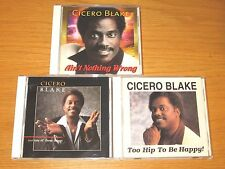 LOT OF 3 USED/VERY GOOD CONDITION SOUL CDs - CICERO BLAKE