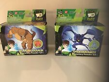 Ben 10 Ben Alien force Planetary power set  Spidermonkey & humungosaur Ban Dai