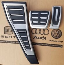 Audi a4 b9 original s-line s4 pedalset pedales rs4 Footrest pedal pads caps RHD