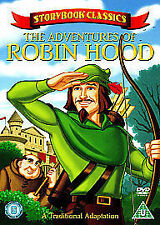 Adventures Of Robin Hood [DVD], Very Good DVD, ,